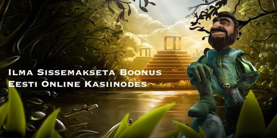 Ilma Sissemakseta Boonus Eesti Online Kasiinodes 2021